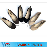 Free shipping Genuine leather flats with tendon bottom Korean version of casual flat shoes candy  women Flats H0098