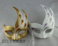Masquerade masks mask quality princess mask pulp belt flame powder mask
