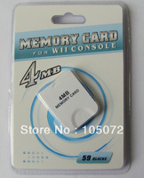 New 4MB  memory card for Wii and GameCube