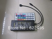 44 Keys IR integrated controller power adapter built in for RGB LED Strip,RGB lamp, 36W(12v, 3A)