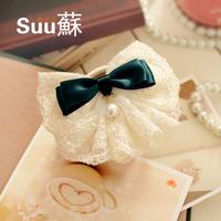 Suu hair accessory hair pin bow hairpin accessories hair accessory brooch headband hair accessory tienshan xuelian