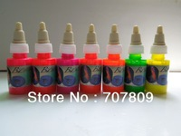 Alternative fashion fluorescent tattoo ink - U.S. imports of special permanent tattoo pigment Free shipping