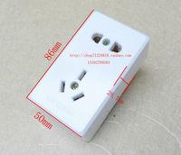 Ming-mounted socket / socket 10A / 250V single-phase five Kongming socket