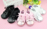 Free shipping / Hot sales Beautiful Rose baby girls shoes, Fashion baby shoes, First walkers