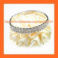 Free Shipping ! 150pcs/lot 2 Row Rhinestone Napkin Ring,Bracelate ,Rhinestone Buckle For Wedding Table Decoration