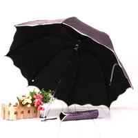 Newest 13335e anti-uv umbrella structurein folding umbrella princess umbrella vinyl sun-shading sunscreen