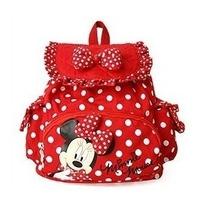Retail Free Shipping kids backpack,kids bag,minnie mouse kintergarden children bag