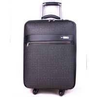 Trolley luggage travel bag pvc 22 super-fibre 504220743 luggage bags portable