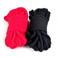 New Hot sex toy 10m long Cotton Rope Flirting Tease Bound rope Couple Game Adult toys sex products free shipping red/black