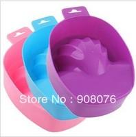 Warm Nail Art Equipment Hand Soak Tool Manicure Remove Wash Soak Bowl 3 pcs/lot Free Shipping