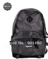free shipping black SUPREME waterproof Oxford cloth shoulder bag  schoolbag  men and women fashion travel bag 3 colors