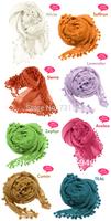 free shipping  dupatta  silk matta scarves ball scarf cape star style scarf  20 colors