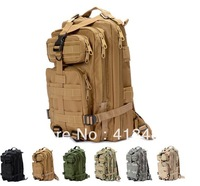free shipping outdoor 3p tactical backpack travel backpack double-shoulder ride backpack mountaineering bag