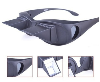 sale product !free shpping Horizontal lazy glasses off to Refraction refraction lie to watch TV