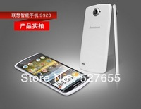 "In Stock New Arrival Original Lenovo S920 MTK6589 Quad-core 3G 5.3"" HD IPS Capacitive Android Phone"
