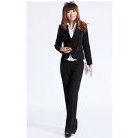Savoring slim work wear female set