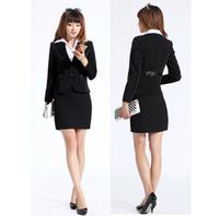 Savoring work wear female set skirt slim