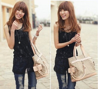 2013 women's canvas handbag bags one shoulder handbag messenger bag 10491