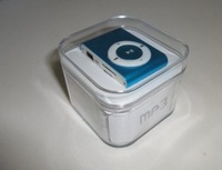 New mini clip mp3 player with earphone,usb cable and box!  8colors to choose,support micro sd card,5pc/lot