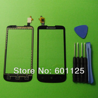 Touch Screen Digitizer glass panel Lens For Lenovo A800 Black Replacement & Tools