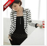 2013 autumn outfit new explosive han edition leisure joker striped suit small jacket