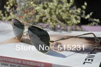 Free shipping  women's large sunglasses male sunglasses vintage sunglasses