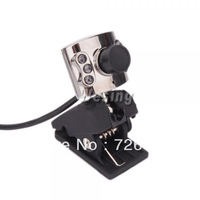 1.3MP USB HD PC Webcam Web Camera with 6 LED & Microphoone and Clip