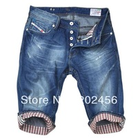 Discount price  2013 Men's casual jeans new fashion waist cotton