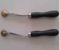 Diy Plastic handle needle edg tracing wheel black