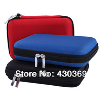 Free shipping High quality  Water proof Bag case for External Hard Drive Disk/Phone/Camera/Mp5 Portable HDD Box Case