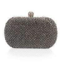 New Latest Luxury rhinestone  full rhinestone bags fashion full female clutch   day clutch banquet  small bags  Evening Handbag