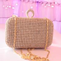 New Latest Bridal  bridesmaid    day clutch full rhinestone diamond 2013 banquet     Evening Handbag