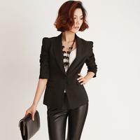Dadayuga2013 spring elegant slim blazer outerwear short design thin female blazer