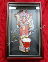 Tianjin clay figurine zhang gift birthday gift crafts --- Liang Gongyu Beijing Opera characters