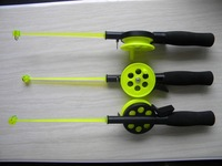 fishing pole fishing rod Cutting the rod ice rod REEL 42.2g/33.5cm 5pcs /lot fishing equipment Free Shipping
