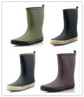 Rain Boots Women Adult male  fashion  outdoor rainboots  Free Shipping