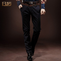 Luxury royal wind trousers easy care brief vintage cotton trousers commercial 13865 slim