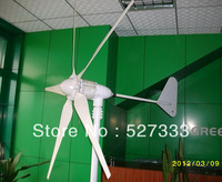 High Power 600W 12v/24v/48v wind generator,Windmill ,5pcs blades,wind turbine,life span 15years,start wind speed 2.5m/s,CE