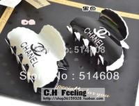 HC002 Acrylic material 8cm long small wave edge hair claw headwear hair decoration