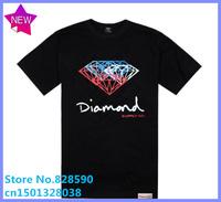 Free Shipping Brand Cheap 2014 summer brand new kanye west jay-z R&B diamond Fashion men fashion stars cross shorts Tee