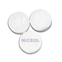 NI5L 50Pcs Facial Face Cotton Mask Natural Compressed F1
