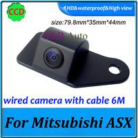 CCD HD Car backup parking camera for Mitsubishi ASX Car rearview camera waterproof night vision