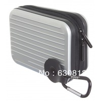 New Port Designs Dusseldorf Hard Silver Digital Camera Case for Canon Nikon&Samsung