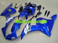 Fairing For YAMAHA 2003 2005 YZF-R6 YZF R6 YZFR6 R6 03 04 05 2003 2004 2005 TOP Blue white body kits