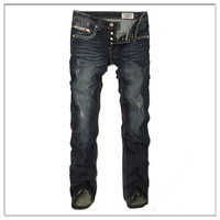 Free Shipping Leisure&Casual pants 2013 New Newly Style TOP brand cotton Men's Jeans Trousers Straight Leg size:29~38-DS974