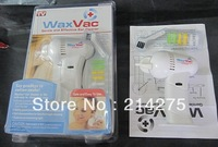 Wholesale price 2013 new style WaxVac Gentle and Effective Ear Cleaner Say goodbye to cotton swabs wholesale Wax Vac 60pcs/lot