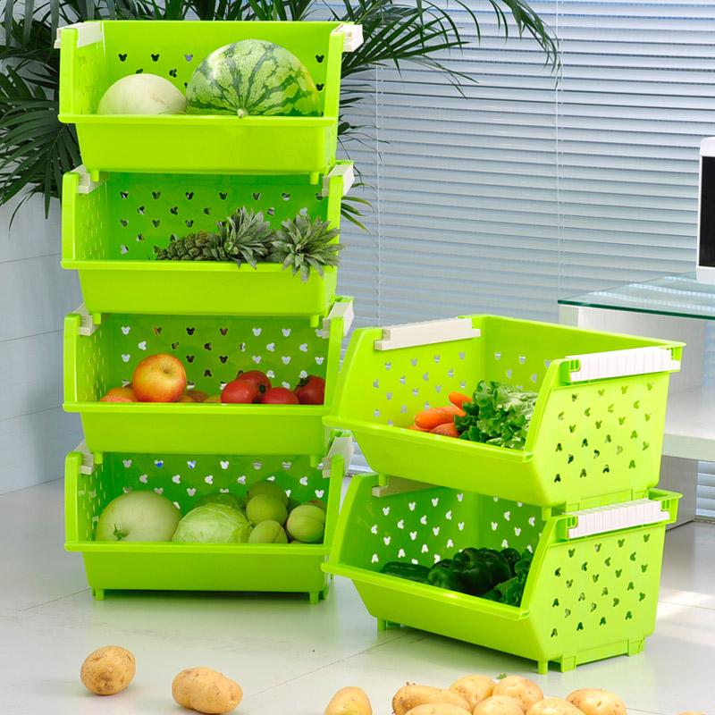 Утолщение фруктов и ящик для хранения ящик для овощей комбин.
