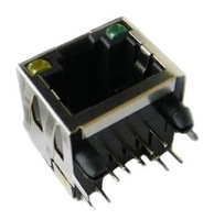 Rj45 connector 8p8c network interface with light shrapnel 90 socket