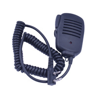Free Shipping  Hand Shoulder Walkie Talkie Transceiver Speaker Microphone Mic