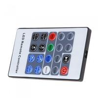 5-24V 20 Key Wireless RF Remote RGB LED Mini Controller Dimmer for LED Strip 5050 3528